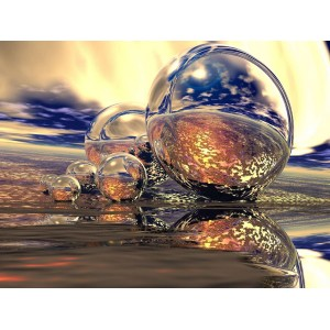 Фототапет Кристални балони