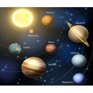 Фототапет Слънчева система