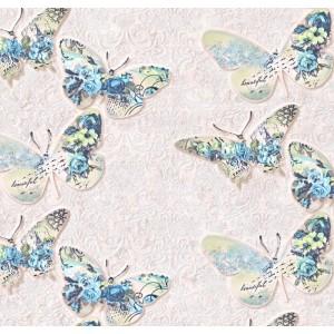 8086-01 Тапет Бабочки